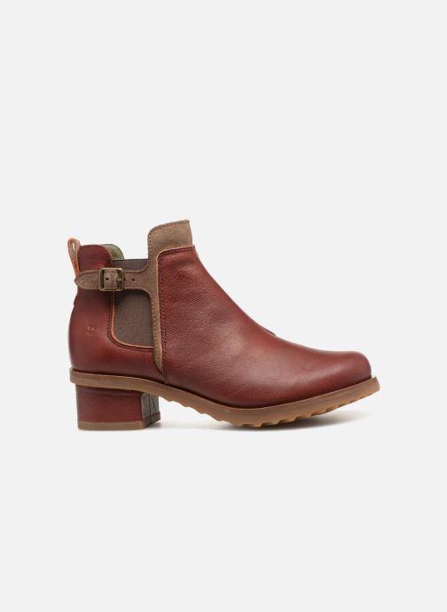 Stiefeletten & Boots El Naturalista Kentia N5104 rot ansicht von hinten