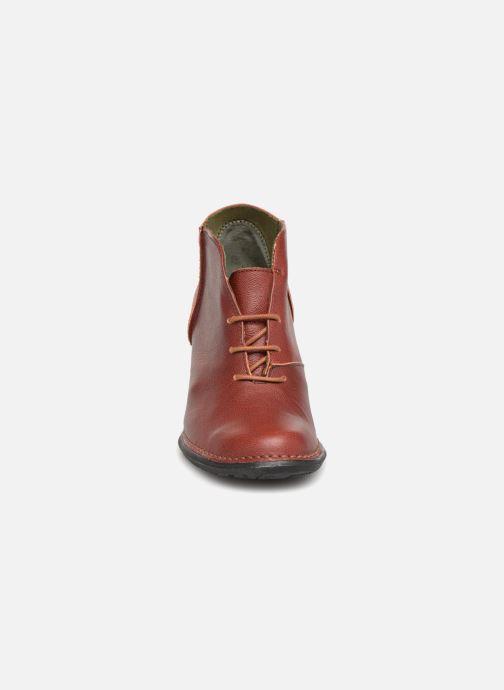 Bottines et boots El Naturalista Nectar N5141 Bordeaux vue portées chaussures