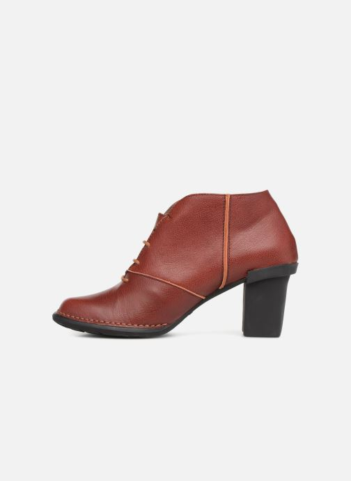 Ankle boots El Naturalista Nectar N5141 Burgundy front view