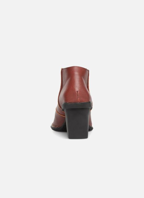 Ankle boots El Naturalista Nectar N5141 Burgundy view from the right