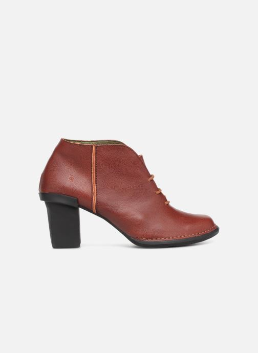 Ankle boots El Naturalista Nectar N5141 Burgundy back view