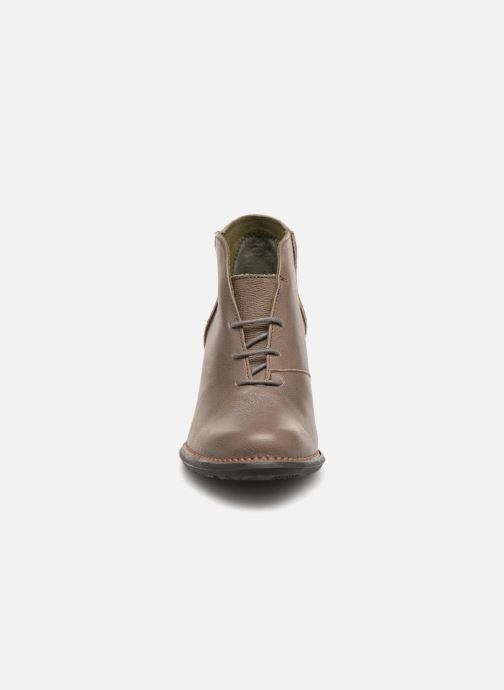 Stiefeletten & Boots El Naturalista Nectar N5141 grau schuhe getragen