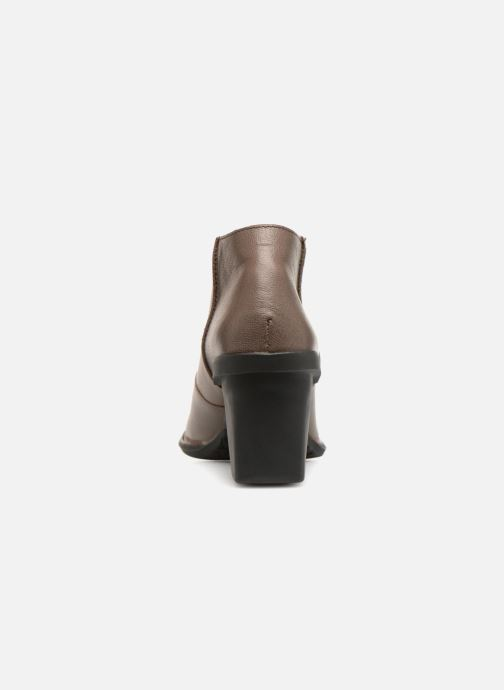 Ankle boots El Naturalista Nectar N5141 Grey view from the right
