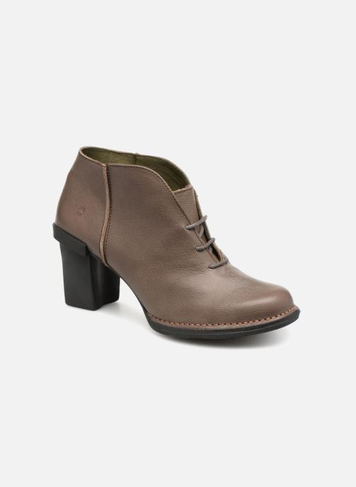 Ankle boots El Naturalista Nectar N5141 Grey detailed view/ Pair view