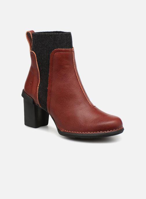 Bottines et boots El Naturalista Nectar N5142 Rouge vue détail/paire