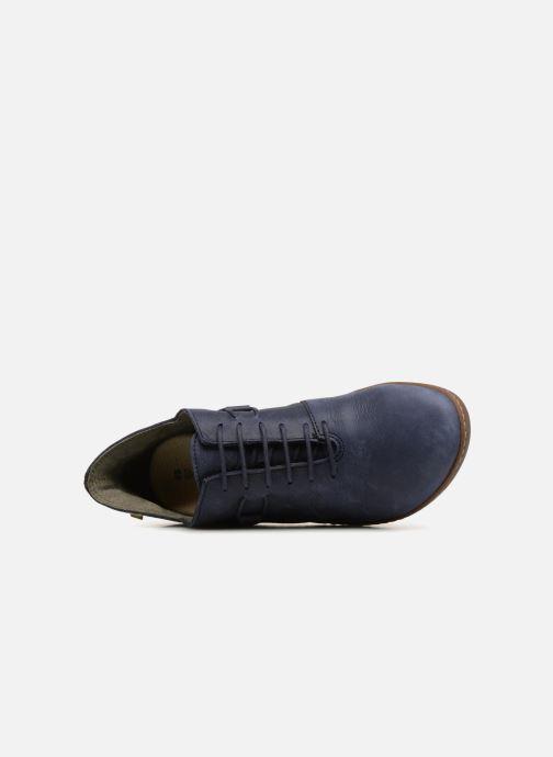 Scarpe con lacci El Naturalista Bee  ND19 Azzurro immagine sinistra