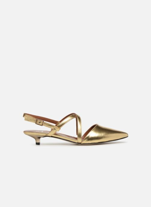 Ballet pumps Made by SARENZA Pastel Affair Ballerines #1 Bronze and Gold detailed view/ Pair view