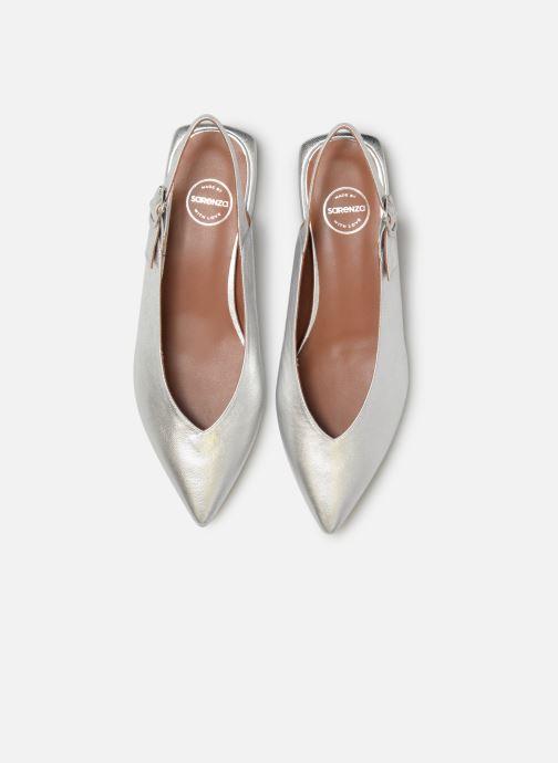 Ballerines Made by SARENZA Pastel Affair Ballerines #2 Argent vue portées chaussures