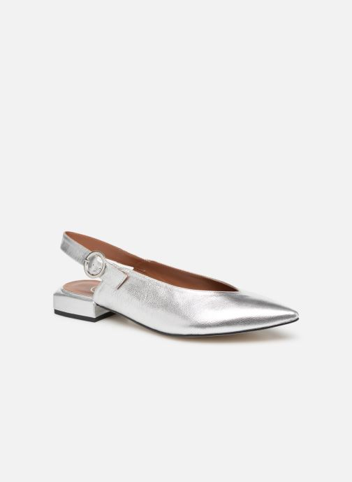 Ballet pumps Made by SARENZA Pastel Affair Ballerines #2 Silver view from the right