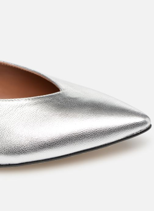 Ballet pumps Made by SARENZA Pastel Affair Ballerines #2 Silver view from the left