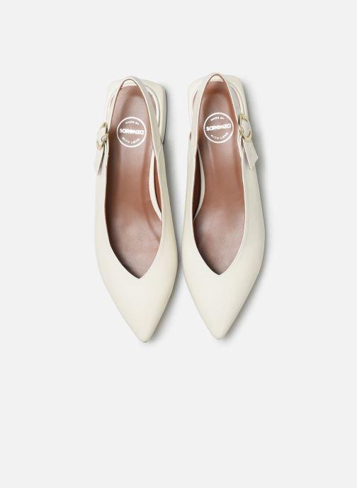 Bailarinas Made by SARENZA Pastel Affair Ballerines #2 Blanco vista del modelo