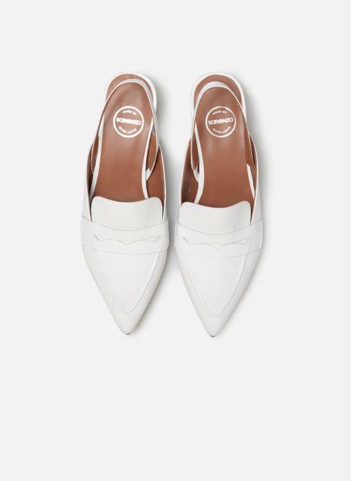 Mocassins Made by SARENZA Pastel Affair Mocassins #5 Blanc vue portées chaussures