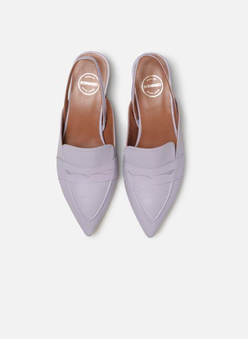 Mocassins Made by SARENZA Pastel Affair Mocassins #5 Violet vue portées chaussures