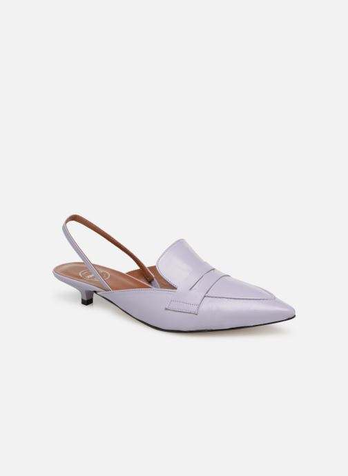 Pastel Sarenza Lila Made Cuir Affair By Mocassins 5 Lisse f6fcnxvW8