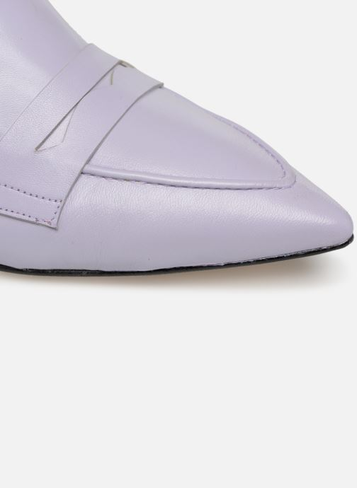 Loafers Made by SARENZA Pastel Affair Mocassins #5 Purple view from the left