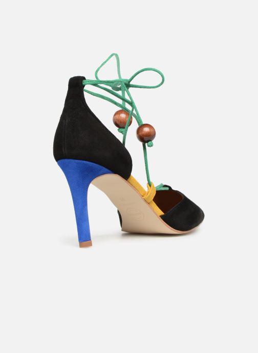 High heels Made by SARENZA UrbAfrican Escarpins #1 Multicolor front view