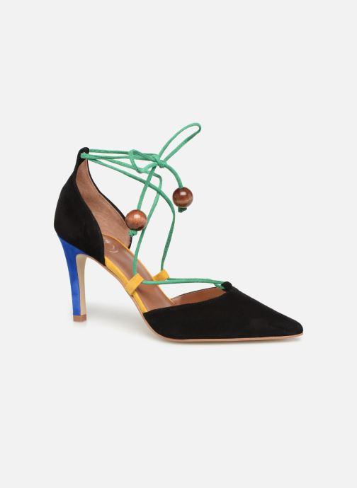 Zapatos de tacón Made by SARENZA UrbAfrican Escarpins #1 Multicolor vista lateral derecha