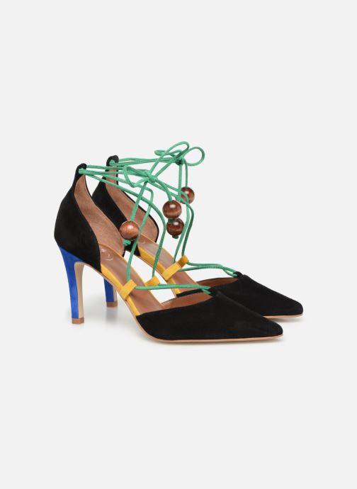 Zapatos de tacón Made by SARENZA UrbAfrican Escarpins #1 Multicolor vistra trasera