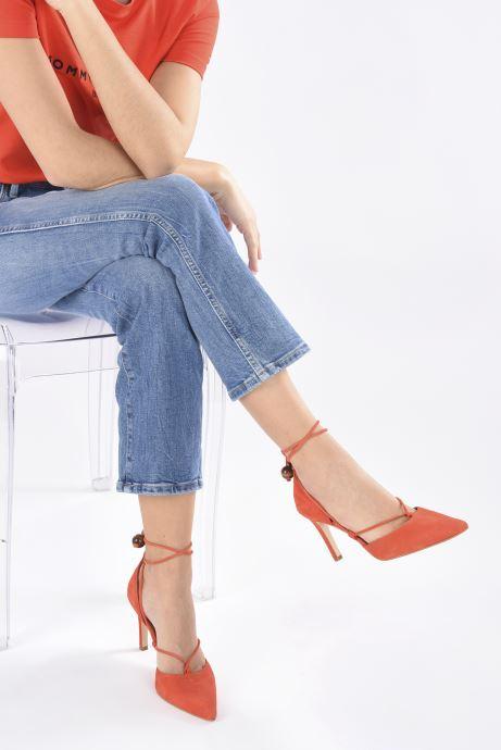 Zapatos de tacón Made by SARENZA UrbAfrican Escarpins #1 Naranja vista de abajo