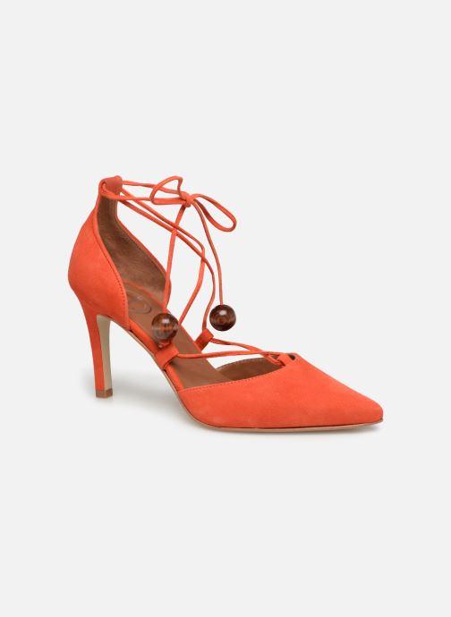 Zapatos de tacón Made by SARENZA UrbAfrican Escarpins #1 Naranja vista lateral derecha