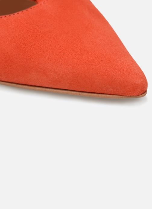 Escarpins Made by SARENZA UrbAfrican Escarpins #1 Orange vue gauche