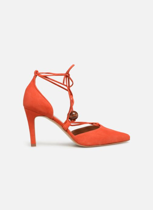 Zapatos de tacón Made by SARENZA UrbAfrican Escarpins #1 Naranja vista de detalle / par