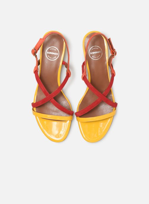 Sandales et nu-pieds Made by SARENZA UrbAfrican Sandales Plates #3 Multicolore vue portées chaussures