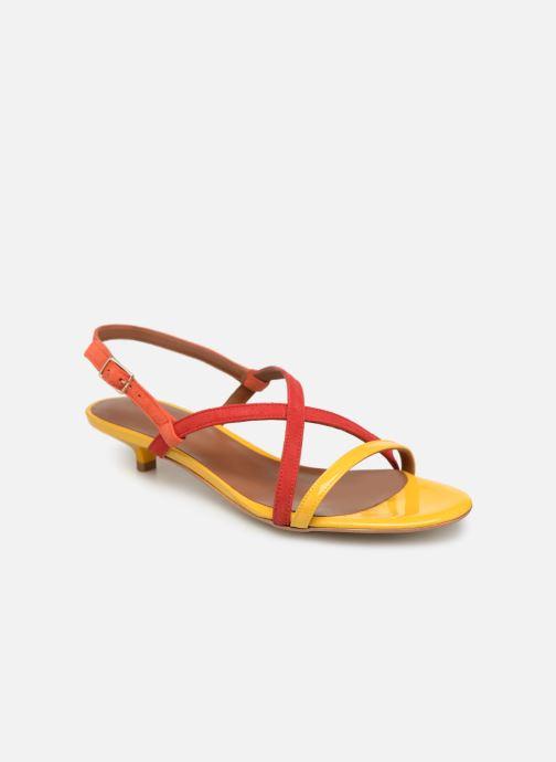 Sandales et nu-pieds Made by SARENZA UrbAfrican Sandales Plates #3 Multicolore vue droite