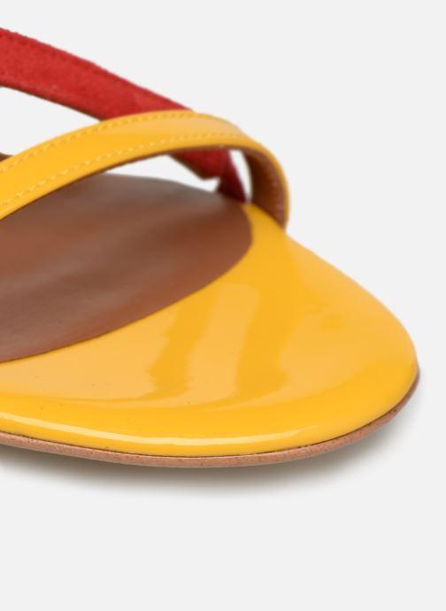 Sandales et nu-pieds Made by SARENZA UrbAfrican Sandales Plates #3 Multicolore vue gauche