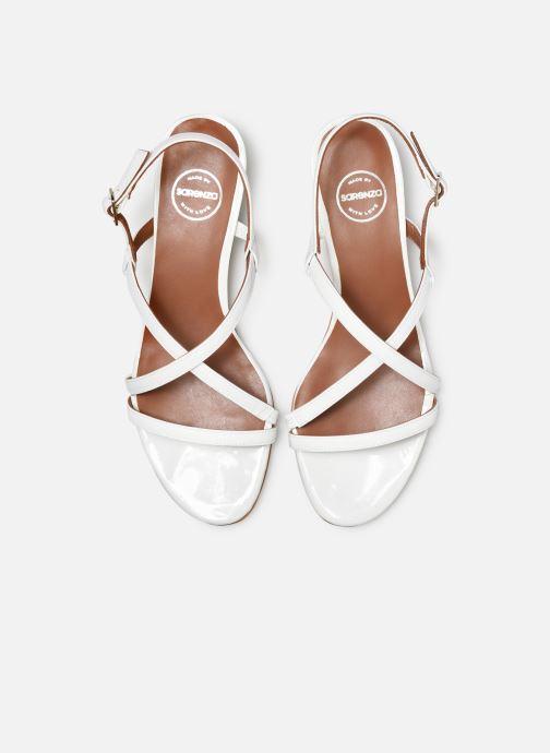 Sandales et nu-pieds Made by SARENZA UrbAfrican Sandales Plates #3 Blanc vue portées chaussures