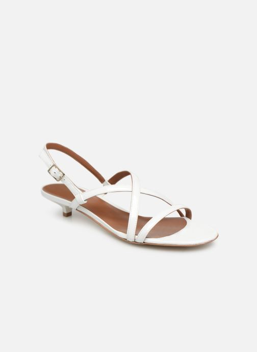 Sandales et nu-pieds Made by SARENZA UrbAfrican Sandales Plates #3 Blanc vue droite