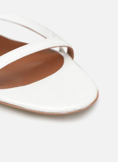 Sandales et nu-pieds Made by SARENZA UrbAfrican Sandales Plates #3 Blanc vue gauche