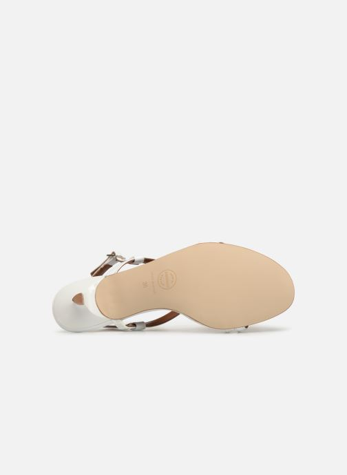 Sandales et nu-pieds Made by SARENZA UrbAfrican Sandales Plates #3 Blanc vue haut