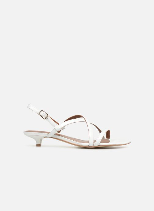 Sandales et nu-pieds Made by SARENZA UrbAfrican Sandales Plates #3 Blanc vue détail/paire