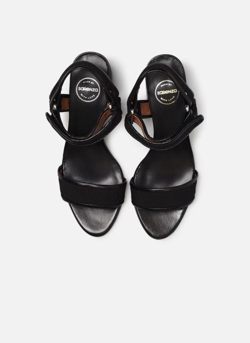 Sandales et nu-pieds Made by SARENZA Sport Party Sandales à Talons #1 Noir vue portées chaussures