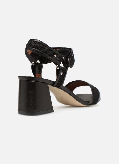 Sandales et nu-pieds Made by SARENZA Sport Party Sandales à Talons #1 Noir vue face