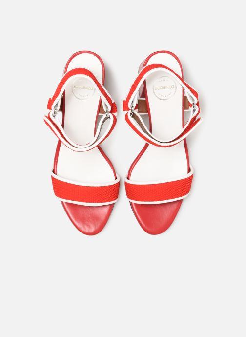 Sandales et nu-pieds Made by SARENZA Sport Party Sandales à Talons #1 Rouge vue portées chaussures