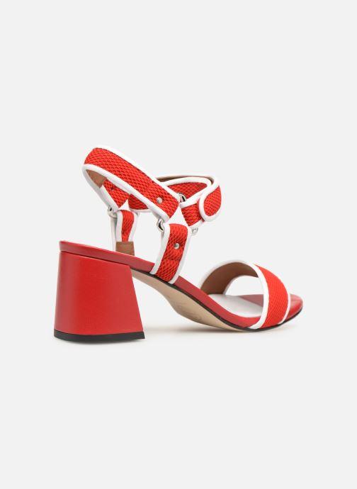 Sandales et nu-pieds Made by SARENZA Sport Party Sandales à Talons #1 Rouge vue face