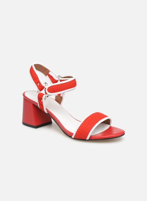 Sandales et nu-pieds Made by SARENZA Sport Party Sandales à Talons #1 Rouge vue droite