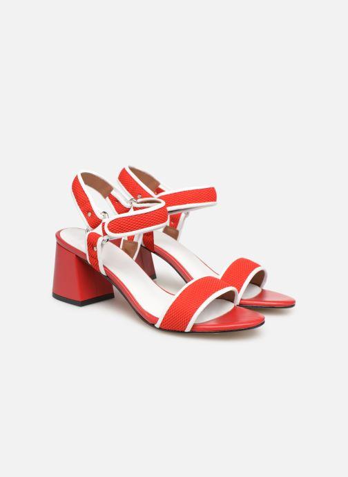 Sandales et nu-pieds Made by SARENZA Sport Party Sandales à Talons #1 Rouge vue derrière