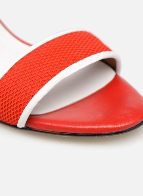 Sandales et nu-pieds Made by SARENZA Sport Party Sandales à Talons #1 Rouge vue gauche