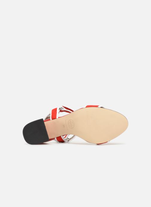 Sandales et nu-pieds Made by SARENZA Sport Party Sandales à Talons #1 Rouge vue haut