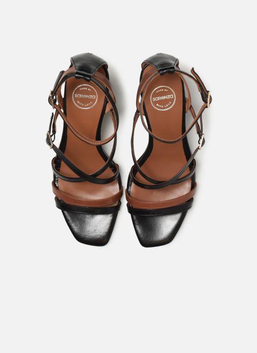 Sandali e scarpe aperte Made by SARENZA UrbAfrican Sandales à Talons #6 Nero modello indossato