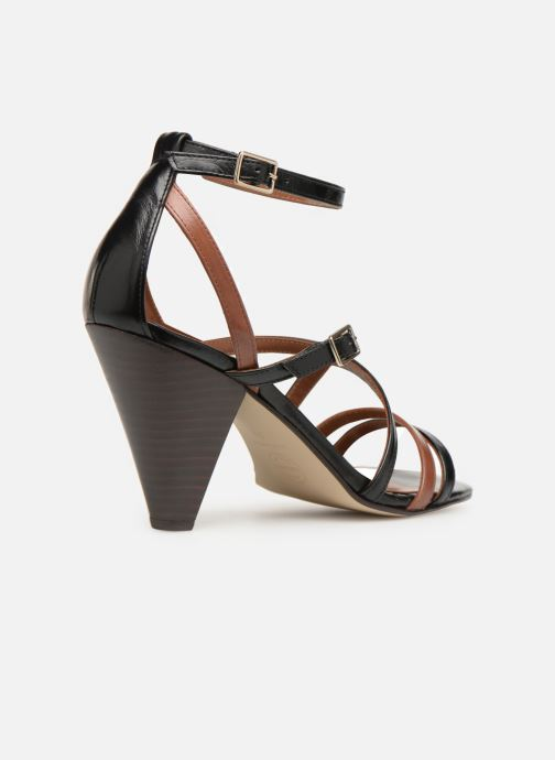 Sandali e scarpe aperte Made by SARENZA UrbAfrican Sandales à Talons #6 Nero immagine frontale