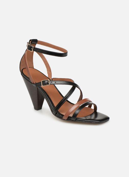 Sandali e scarpe aperte Made by SARENZA UrbAfrican Sandales à Talons #6 Nero immagine destra