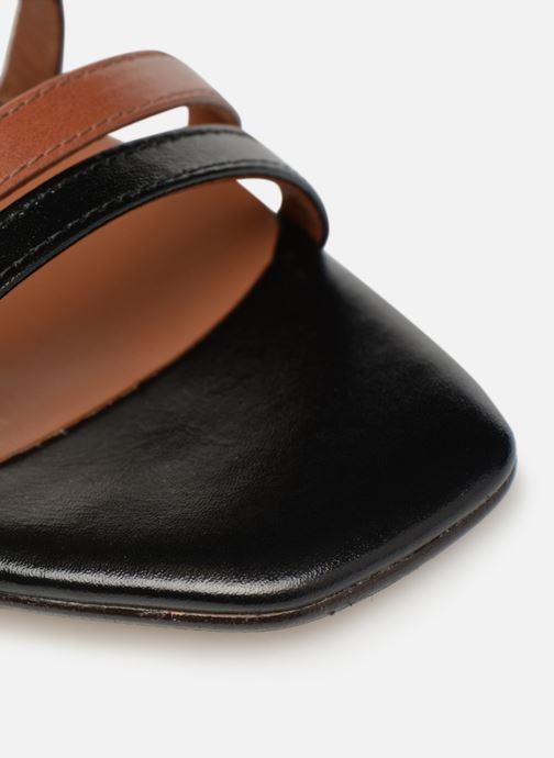 Sandali e scarpe aperte Made by SARENZA UrbAfrican Sandales à Talons #6 Nero immagine sinistra