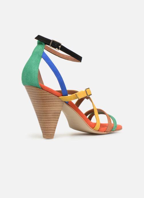 Sandales et nu-pieds Made by SARENZA UrbAfrican Sandales à Talons #6 Multicolore vue face