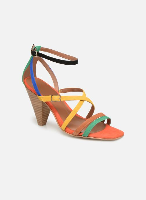 Sandales et nu-pieds Made by SARENZA UrbAfrican Sandales à Talons #6 Multicolore vue droite