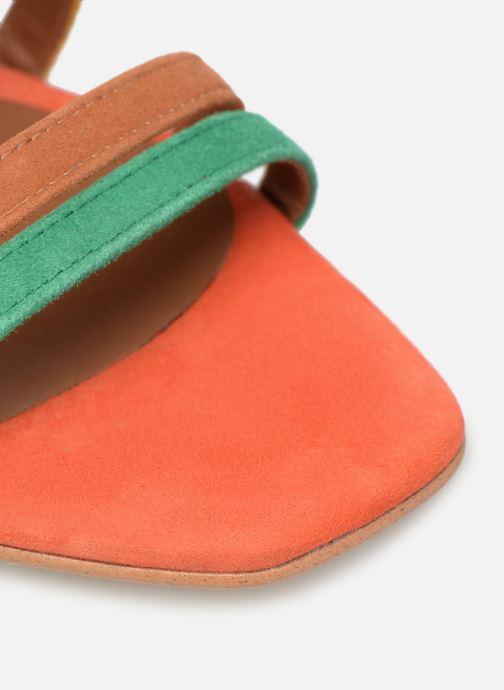 Sandales et nu-pieds Made by SARENZA UrbAfrican Sandales à Talons #6 Multicolore vue gauche