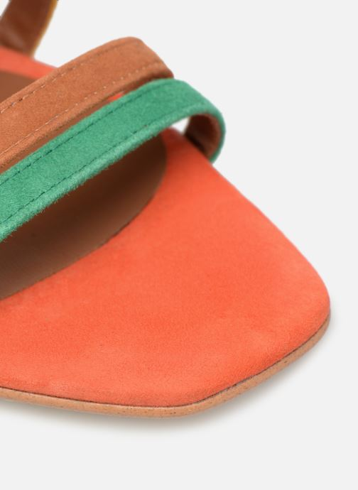 Sandali e scarpe aperte Made by SARENZA UrbAfrican Sandales à Talons #6 Multicolore immagine sinistra